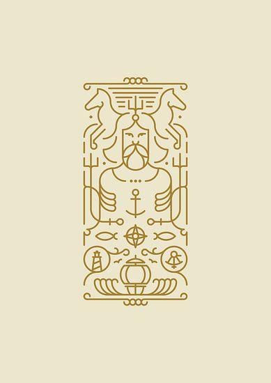 Poseidon (gold)