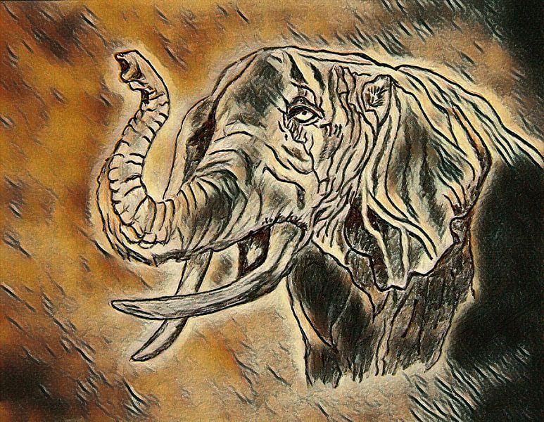 Elefant von Jose Lok