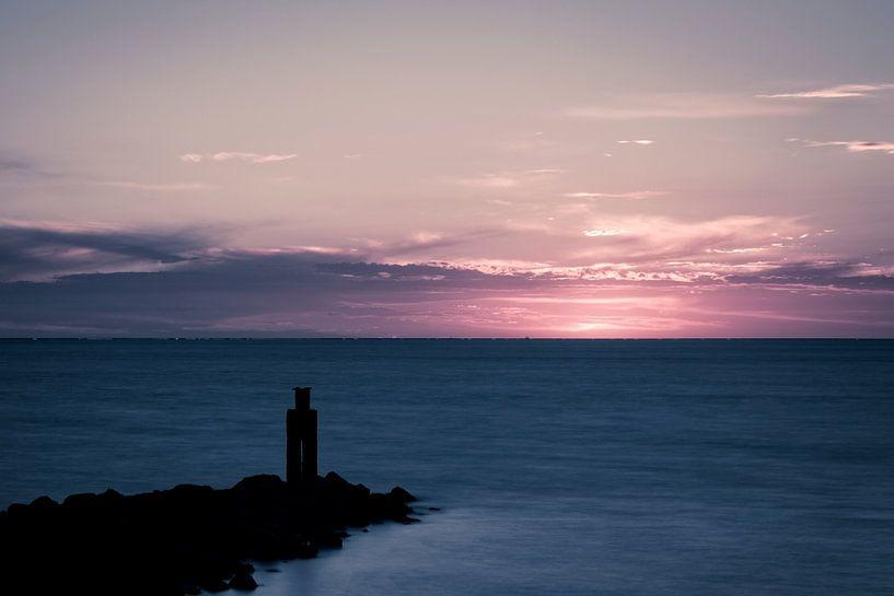 Pink Sunset.. I van Miranda van Hulst