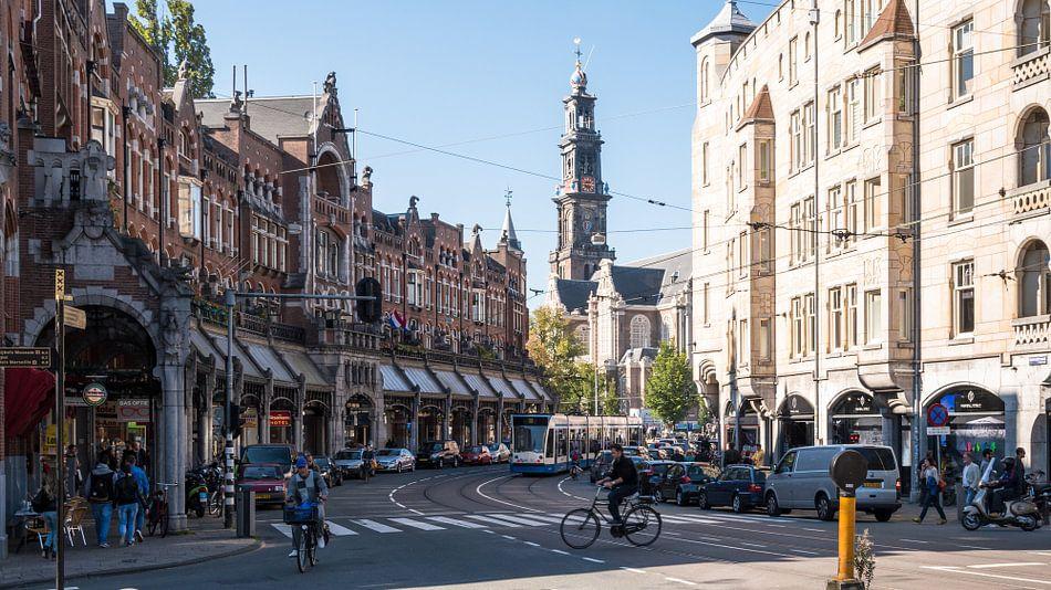 Raadhuisstraat met Westerkerk