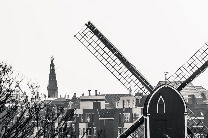 Uitzicht, Leiden van Jordy Kortekaas
