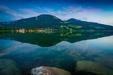 Blaue Stunde am Alpsee