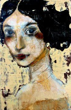 Woman with Black Hair von RAR Kramer