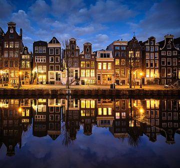 Les maisons du canal d'Amsterdam