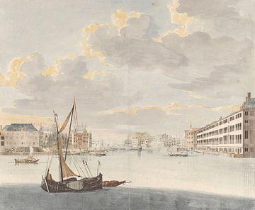 Blick auf die Binnen-Amstel in Amsterdam, Johan Teyler