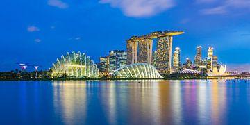 Horizon de Singapour dans la soirée sur Tux Photography