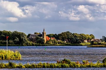 Zicht op Wilsum over de IJssel van Wijnand Medendorp