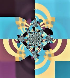 Layers -Abstract von Annaluiza Dovinos
