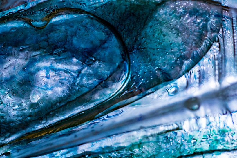 Blauwe vleugel van Nanda Bussers