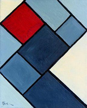 Squares van Yvonne Smits