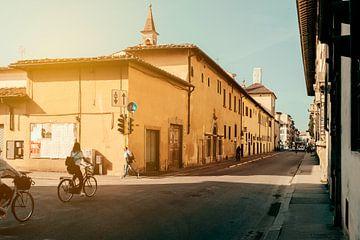 Radfahrer in Florenz von Arnold Reyneveld