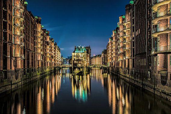 Wasserschloss Hamburg van Alexander Schulz