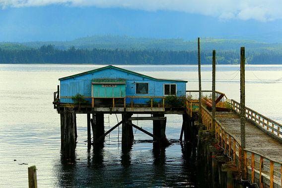 Alert Bay - Vancouver Island van Hans Jansen - Lynxs Photography