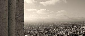Parijs overzicht vanaf Sacré Couer van