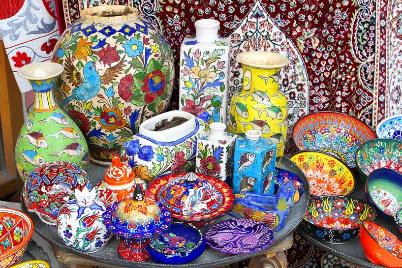Oosters keramiek van Inge Hogenbijl