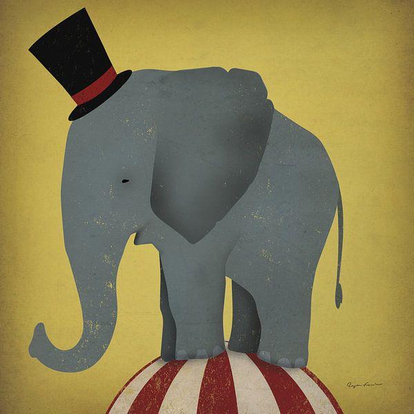 Zirkus-Elefant, Ryan Fowler von Wild Apple