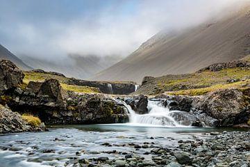 IJsland - Skutafoss van Henk Verheyen