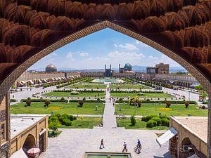 Het Imam plein in Esfahan van