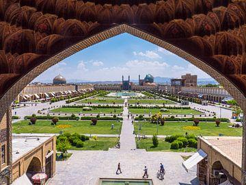 Het Imam plein in Esfahan van Ferdi Merkx