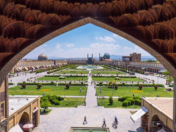 Het Imam plein in Esfahan