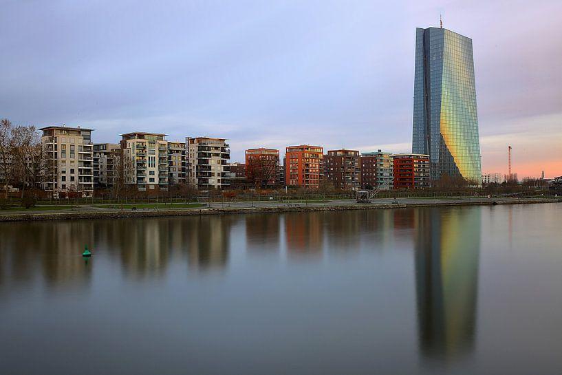 EZB Wolkenkratzer Frankfurt von Patrick Lohmüller