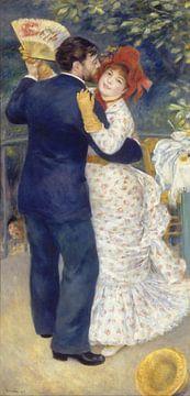 Dans op het platteland, Pierre-Auguste Renoir van 1000 Schilderijen