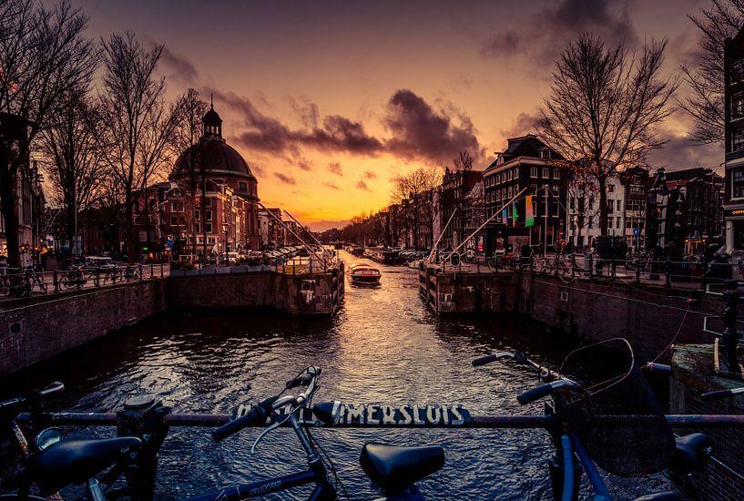De Singel in Amsterdam van Rop Oudkerk