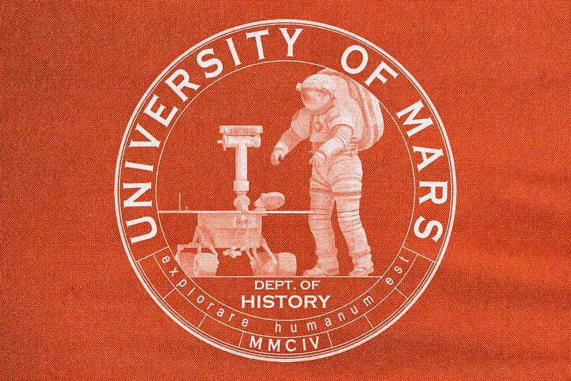 University of Mars - Department of History von Frans Blok