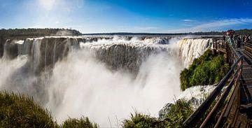 Iguazu, Waterval, panorama van Guus Quaedvlieg