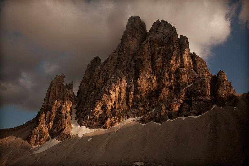 Sunset in Italy van Ellen van Drunen