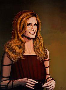 Dalida schilderij