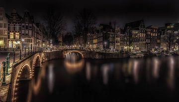 Grachten van Amsterdam van Mario Calma
