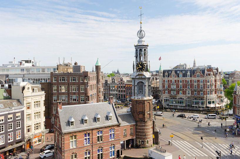 Munttoren Amsterdam van Tom Elst