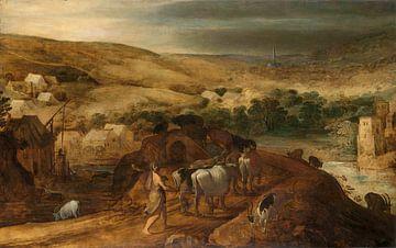 Herkules stiehlt die Herde von Geryones, Joos de Momper