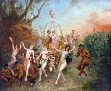 Fest der Fauna und der Nymphen, 1905 von Atelier Liesjes