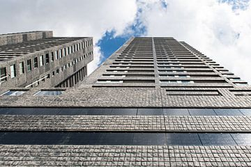 Wolkenkratzer in Rotterdam von Wim Stolwerk