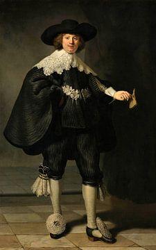 Marten Soolmans van Rembrandt van Rijn van Marieke de Koning