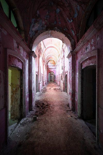 Verlassener Korridor im Zerfall. von Roman Robroek