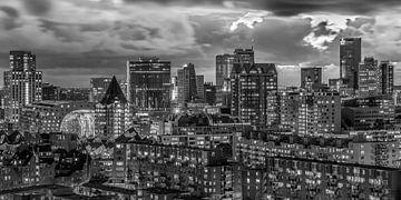 Rotterdam Panorama 5 von Nuance Beeld
