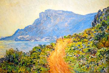 Gemälde aus La Corniche bei Monaco, Clau von Nisangha Masselink