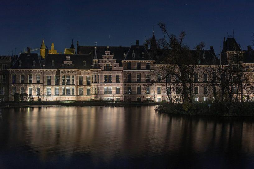 The Hague by night von Annemieke Klijn