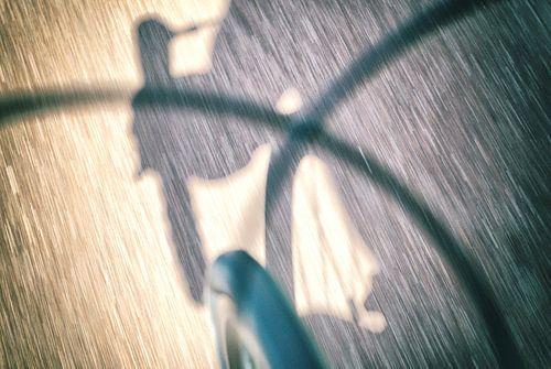 Radfahrer Sport Kunst von Rene du Chatenier