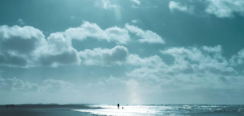 Strandwandeling van Kirsten Warner