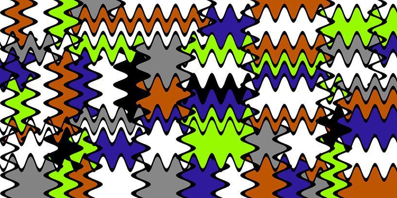 Wellenmuster 1 von Marion Tenbergen