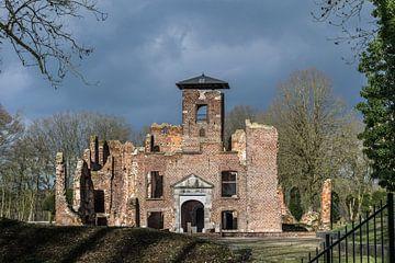 Burgruine in Limburg, Afferden, Bleijenbeek von Patrick Verhoef