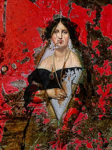 Madame Moitessier in de ruit van Gabi Hampe
