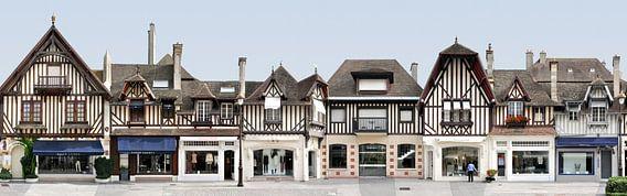 Deauville Fachwerk | Rue de Casino van Panorama Streetline
