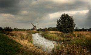 Molen in de provincie Groningen  (3) van Bo Scheeringa
