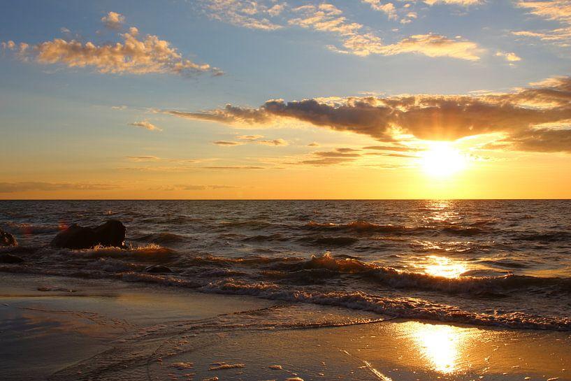 Sonnenuntergang von Ostsee Bilder
