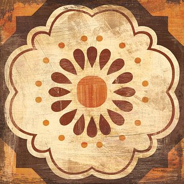 Marokkaanse tegels Spice VIII, Cleonique Hilsaca van Wild Apple